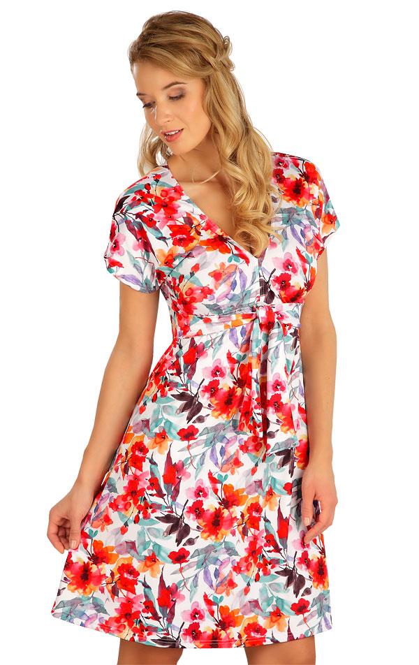 Šaty dámske s krátkym rukávom. 5B087 | Šaty, sukne, tuniky LITEX