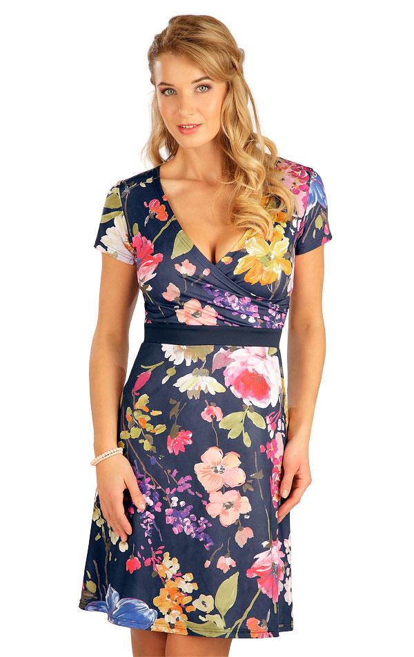 Šaty dámske s krátkym rukávom. 5B091 | Šaty, sukne, tuniky LITEX