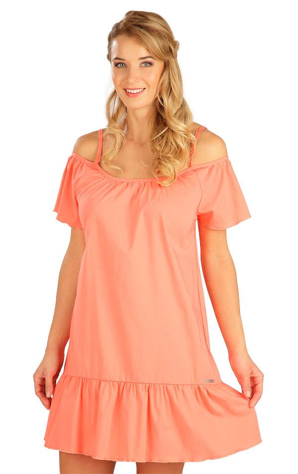 Šaty dámske na ramienka. 5B098   Šaty, sukne, tuniky LITEX