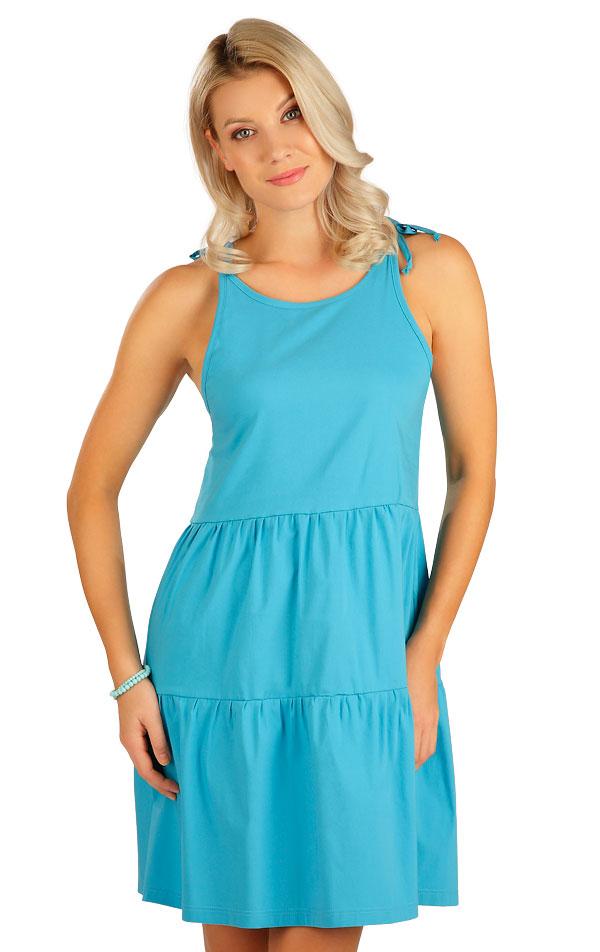 Šaty dámske na ramienka. 5B102   Šaty, sukne, tuniky LITEX