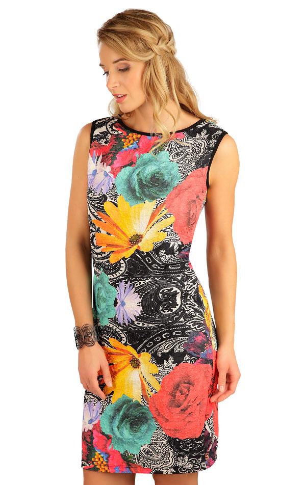Šaty dámske bez rukávov. 5B105   Šaty, sukne, tuniky LITEX
