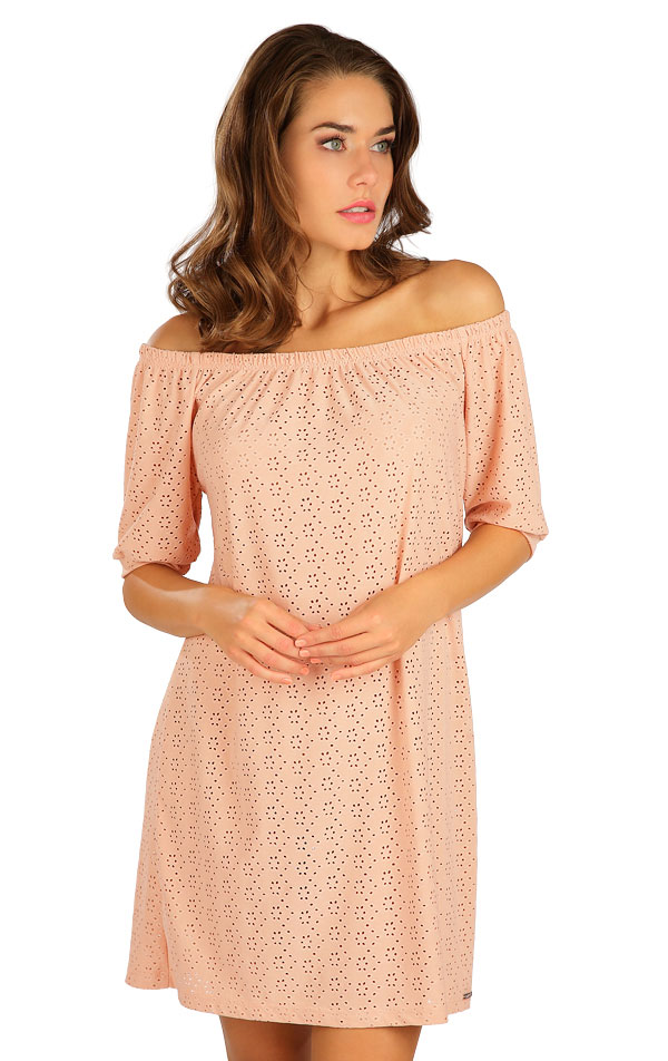 Šaty dámske s krátkym rukávom. 5B112 | Šaty, sukne, tuniky LITEX