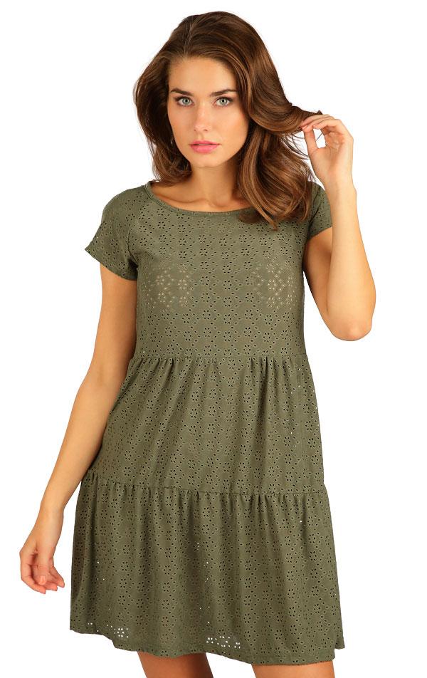 Šaty dámske s krátkym rukávom. 5B118 | Šaty, sukne, tuniky LITEX