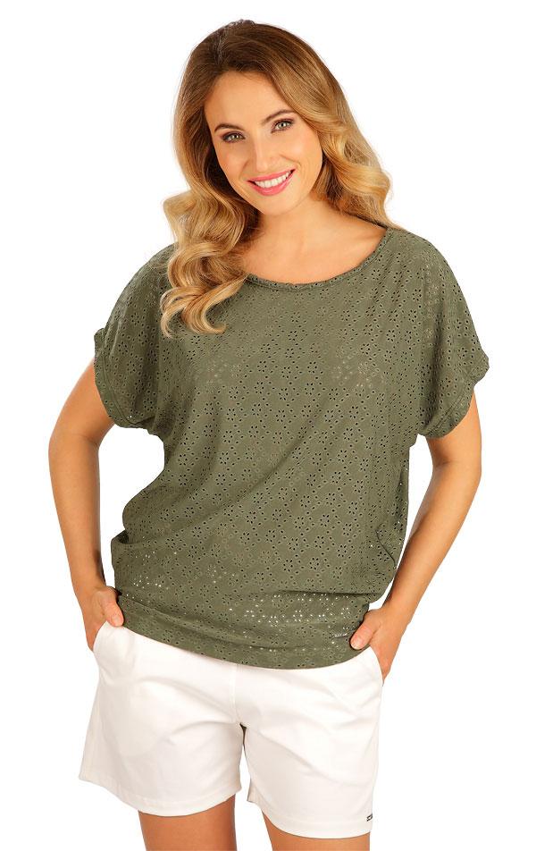 Tričko dámske s krátkym rukávom. 5B120 | Tielka, trička, halenky LITEX