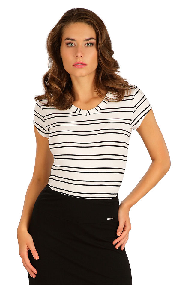 Tričko dámske s krátkym rukávom. 5B130 | Tielka, trička, halenky LITEX