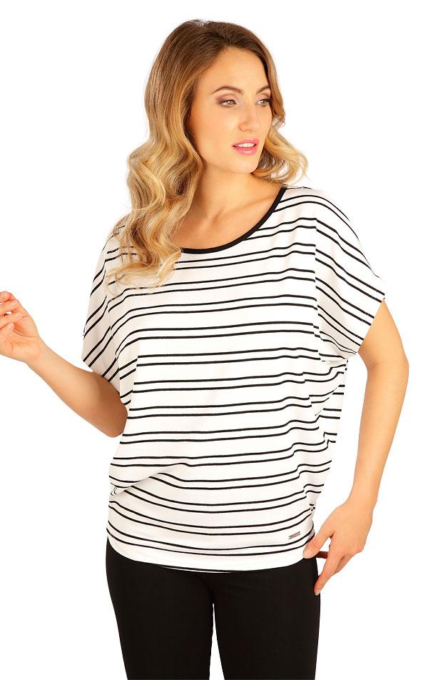 Tričko dámske s krátkym rukávom. 5B132 | Tielka, trička, halenky LITEX
