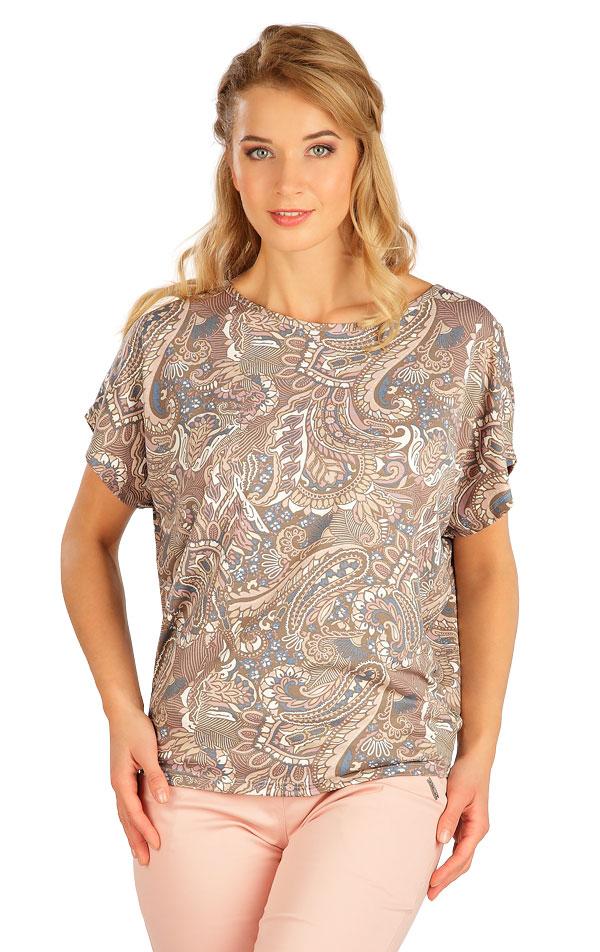 Tričko dámske s krátkym rukávom. 5B137 | Tielka, trička, halenky LITEX