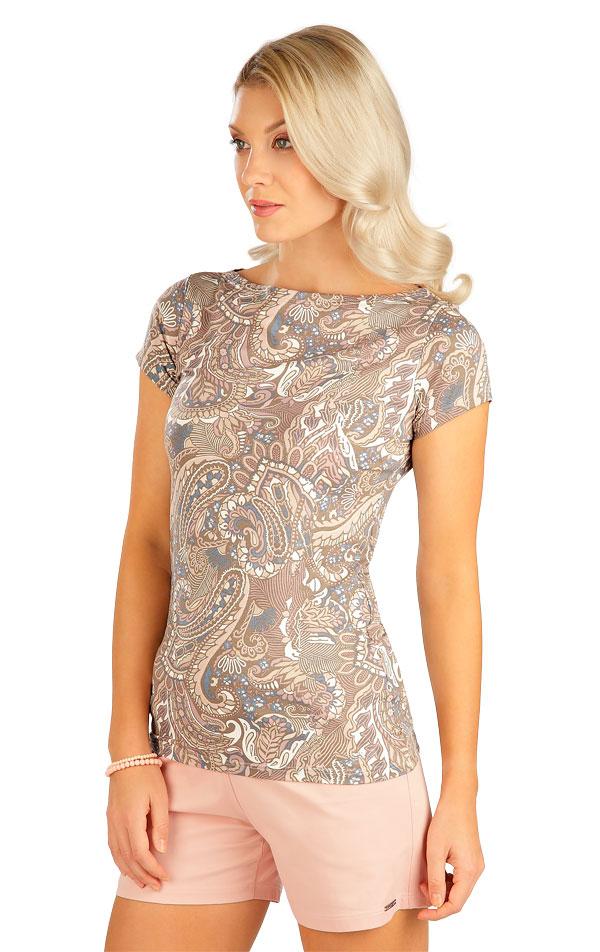 Tričko dámske s krátkym rukávom. 5B139 | Tielka, trička, halenky LITEX