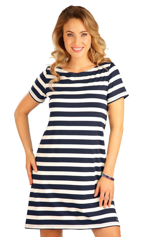Šaty dámske s krátkym rukávom. 5B175 | Šaty, sukne, tuniky LITEX