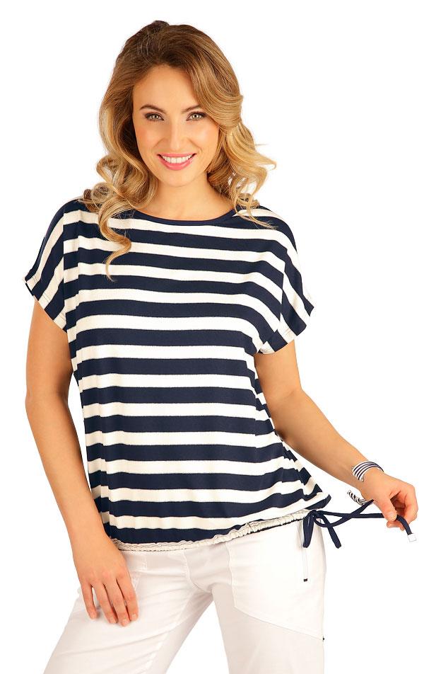 Tričko dámske s krátkym rukávom. 5B178 | Tielka, trička, halenky LITEX