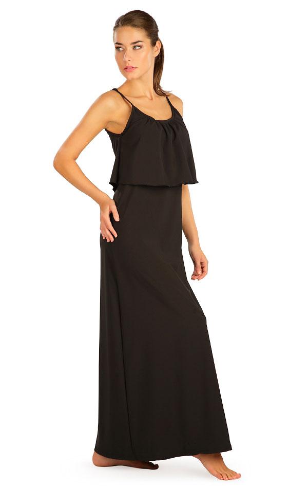 Šaty dámske dlhé s volánom. 5B187 | Šaty, sukne, tuniky LITEX