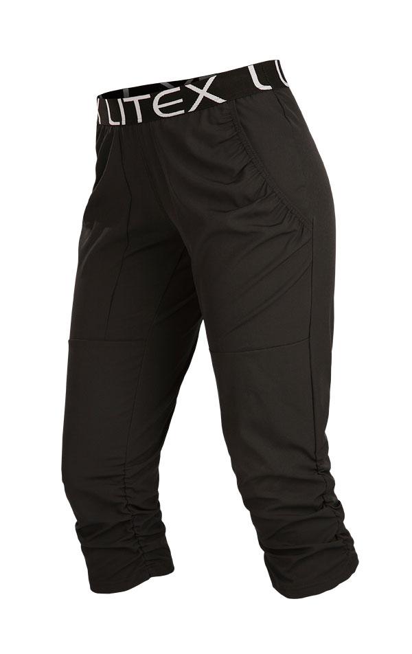 Nohavice dámske v 3/4 dĺžke. 5B190 | Športové nohavice, tepláky, kraťasy LITEX