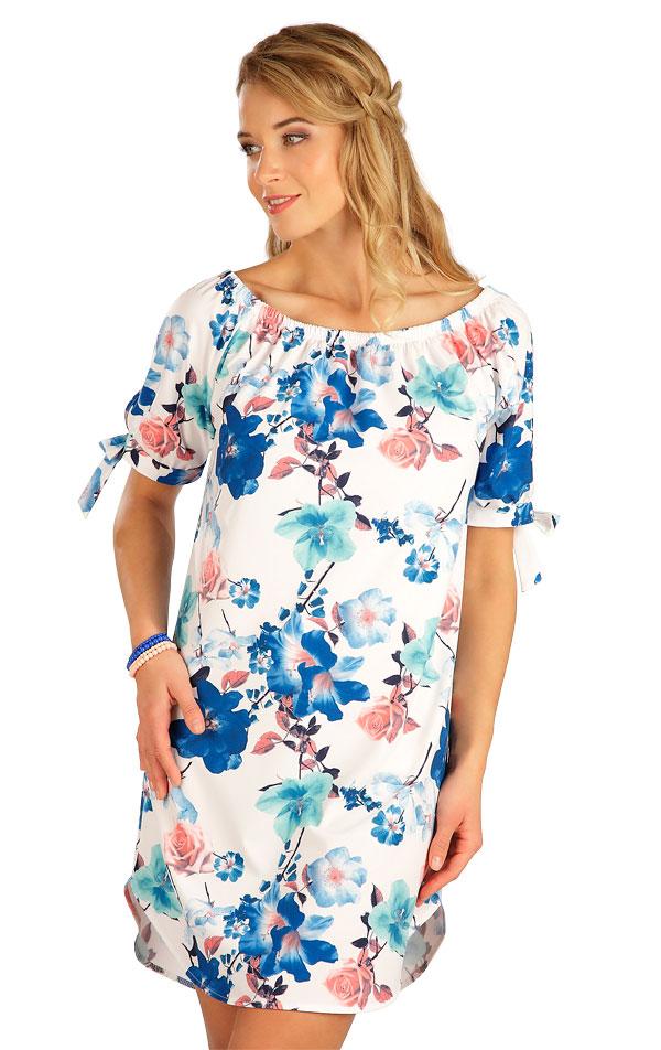 Šaty dámske s krátkym rukávom. 5B193 | Šaty, sukne, tuniky LITEX