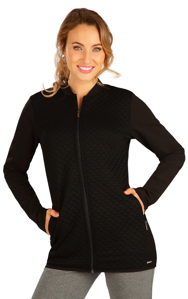 Mikina dámska na zips. 5B250 | Bundy, vesty, kabátiky LITEX