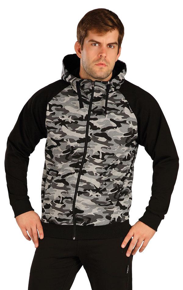 Mikina pánska na zips s kapucňou. 5B260 | Mikiny, bundy LITEX