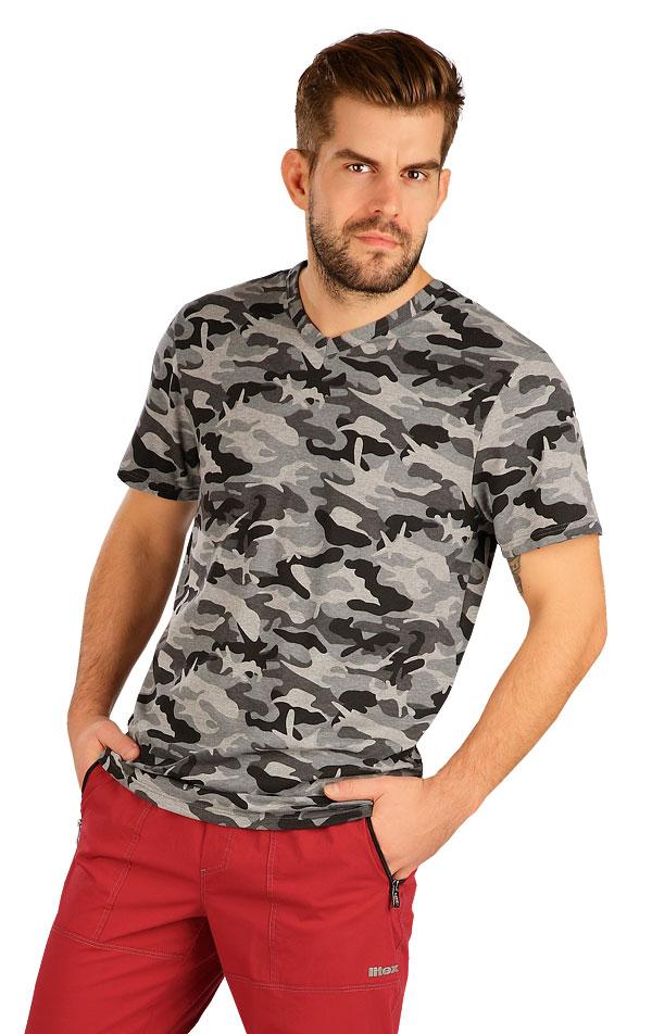 Tričko pánske s krátkym rukávom. 5B264 | Trička, tielka LITEX
