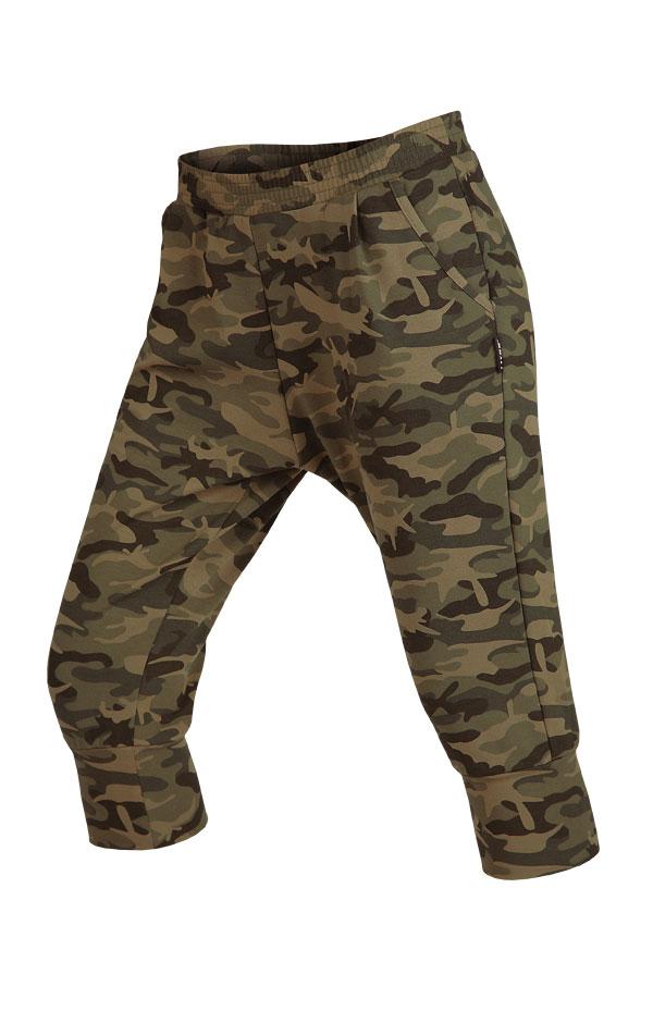Nohavice dámske 3/4 so znížením sedom. 5B269 | Športové nohavice, tepláky, kraťasy LITEX