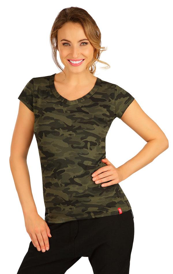 Tričko dámske s krátkym rukávom. 5B272 | Tielka, trička, halenky LITEX
