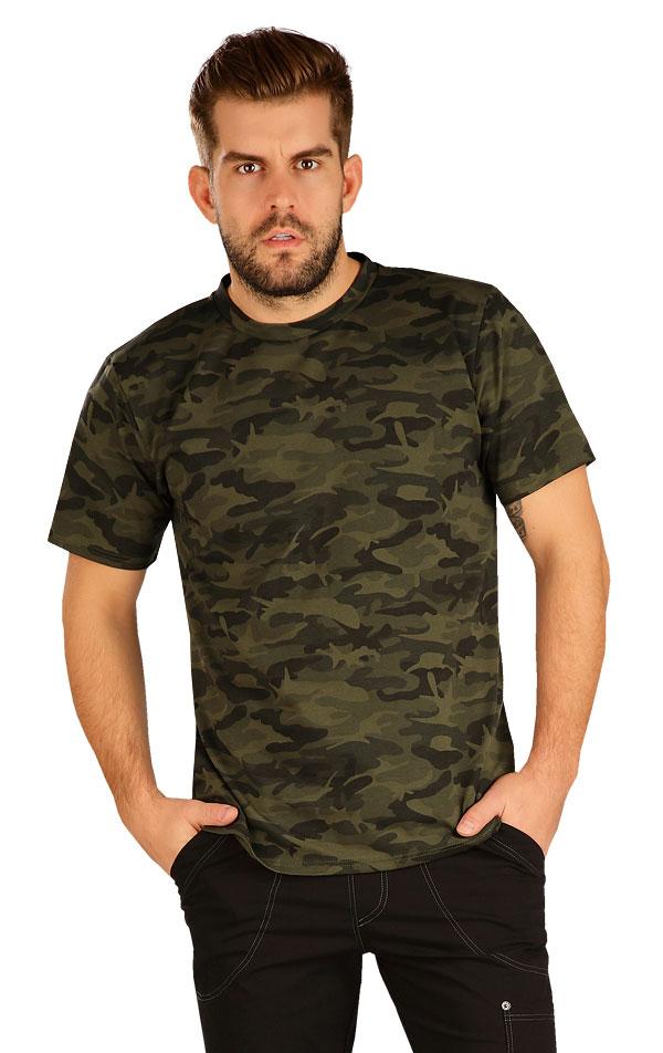 Tričko pánske s krátkym rukávom. 5B273 | Trička, tielka LITEX