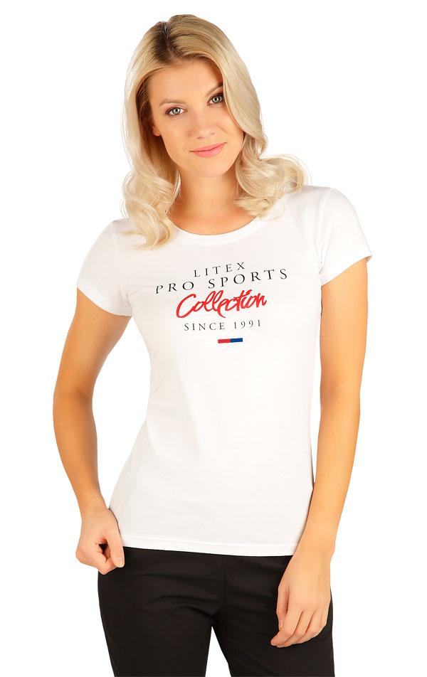 Tričko dámske s krátkym rukávom. 5B277 | Tielka, trička, halenky LITEX