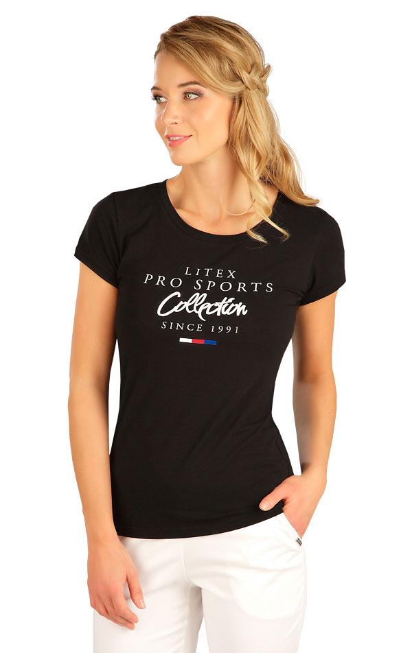 Tričko dámske s krátkym rukávom. 5B278 | Tielka, trička, halenky LITEX