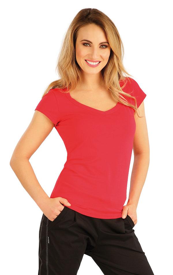Tričko dámske s krátkym rukávom. 5B280 | Tielka, trička, halenky LITEX