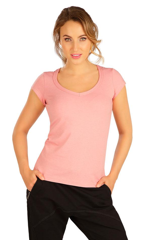 Tričko dámske s krátkym rukávom. 5B284   Tielka, trička, halenky LITEX