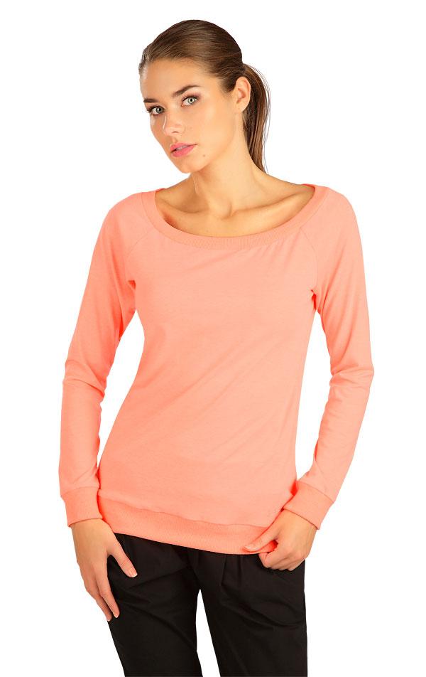 Tričko dámske s dlhým rukávom. 5B290   Tielka, trička, halenky LITEX