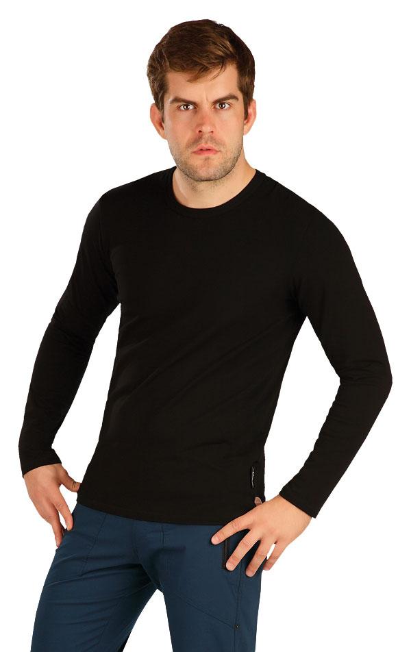 Tričko pánske s dlhým rukávom. 5B296 | Trička, tielka LITEX