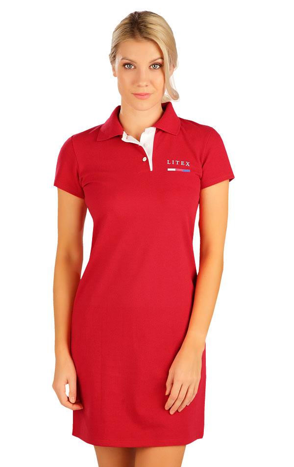 Šaty dámske s krátkym rukávom. 5B300 | Šaty, sukne, tuniky LITEX