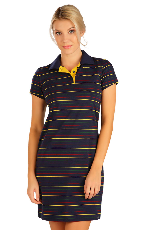 Šaty dámske s krátkym rukávom. 5B301 | Šaty, sukne, tuniky LITEX