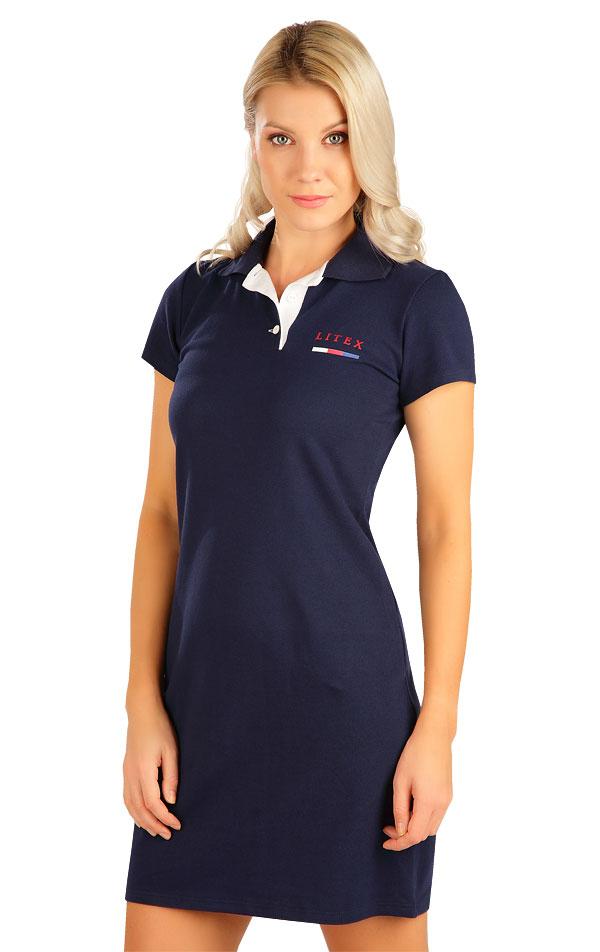 Šaty dámske s krátkym rukávom. 5B302 | Šaty, sukne, tuniky LITEX