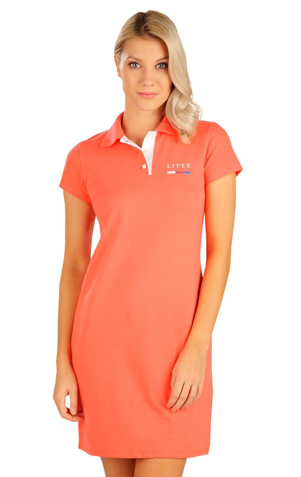 Šaty dámske s krátkym rukávom. 5B303   Šaty, sukne, tuniky LITEX