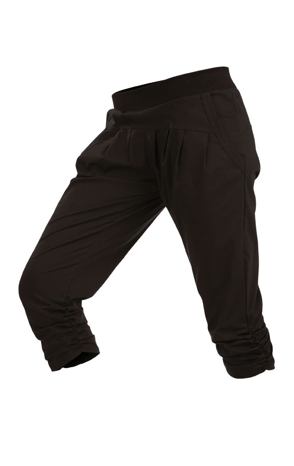 Nohavice dámske bedrové v 3/4 dĺžke. 5B321 | Športové nohavice, tepláky, kraťasy LITEX