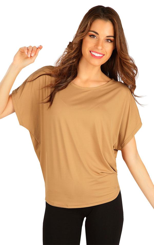 Tričko dámske s krátkym rukávom. 5B388 | Tielka, trička, halenky LITEX