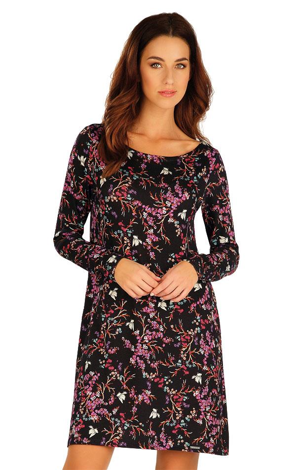 Šaty dámske s dlhým rukávom. 60002 | Šaty, sukne, tuniky LITEX