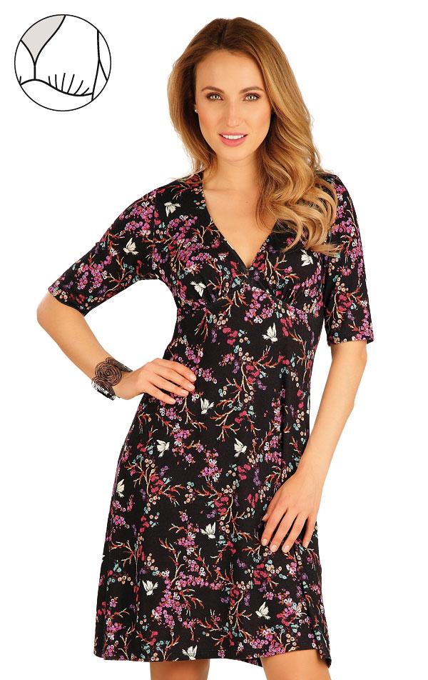 Šaty dámske s krátkym rukávom. 60003   Šaty, sukne, tuniky LITEX