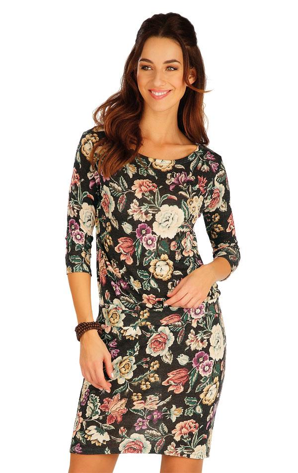 Šaty dámske s 3/4 rukávom. 60009 | Športové oblečenie -  zľava LITEX
