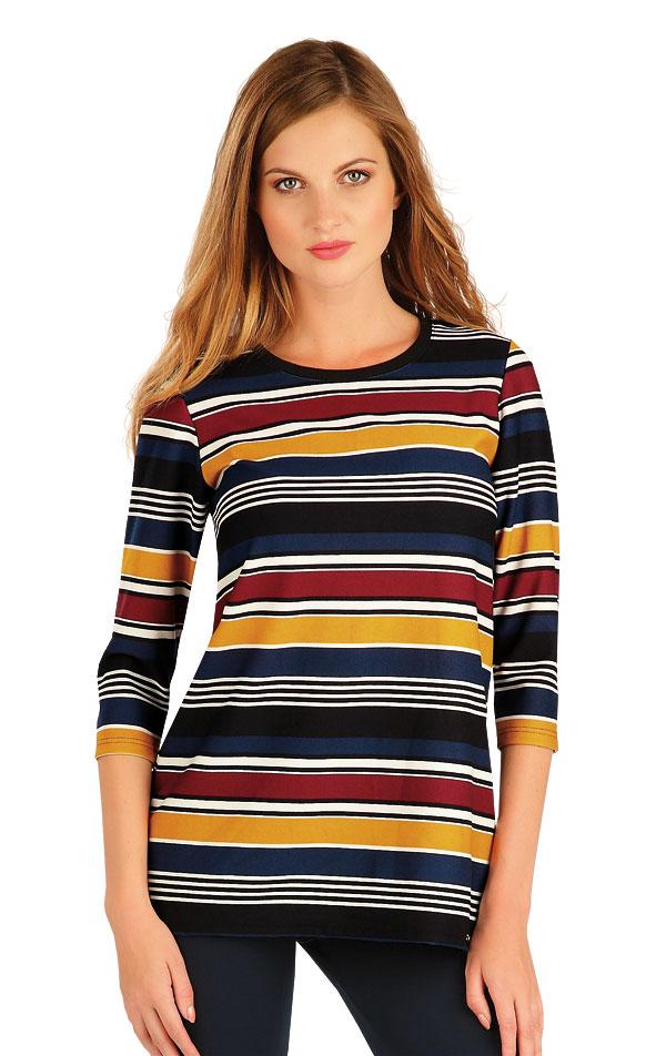 Tričko dámske s 3/4 rukávom. 60012 | Tielka, trička, halenky LITEX