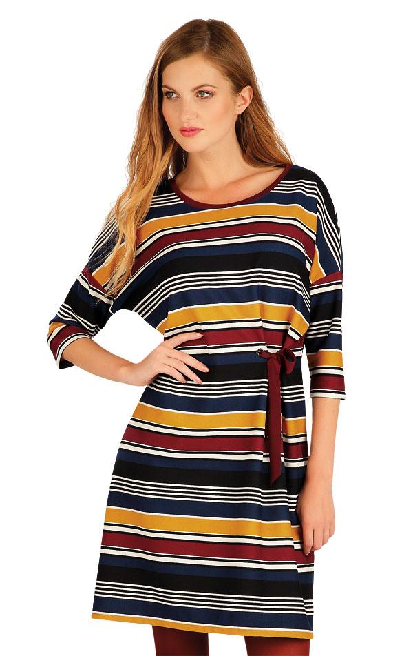 Šaty dámske s 3/4 rukávom. 60015 | Šaty, sukne, tuniky LITEX