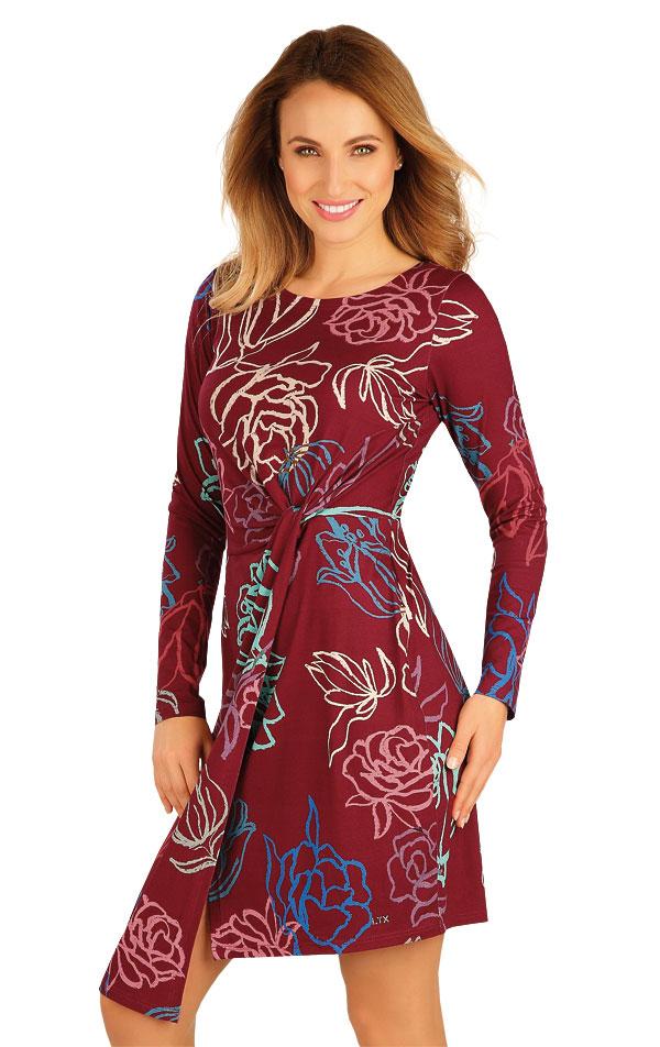 Šaty dámske s dlhým rukávom. 60028 | Športové oblečenie -  zľava LITEX