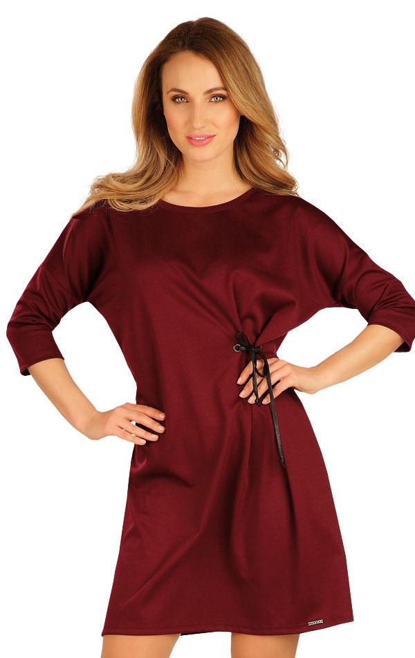 Šaty dámske s 3/4 rukávom. 60042 | Šaty, sukne, tuniky LITEX