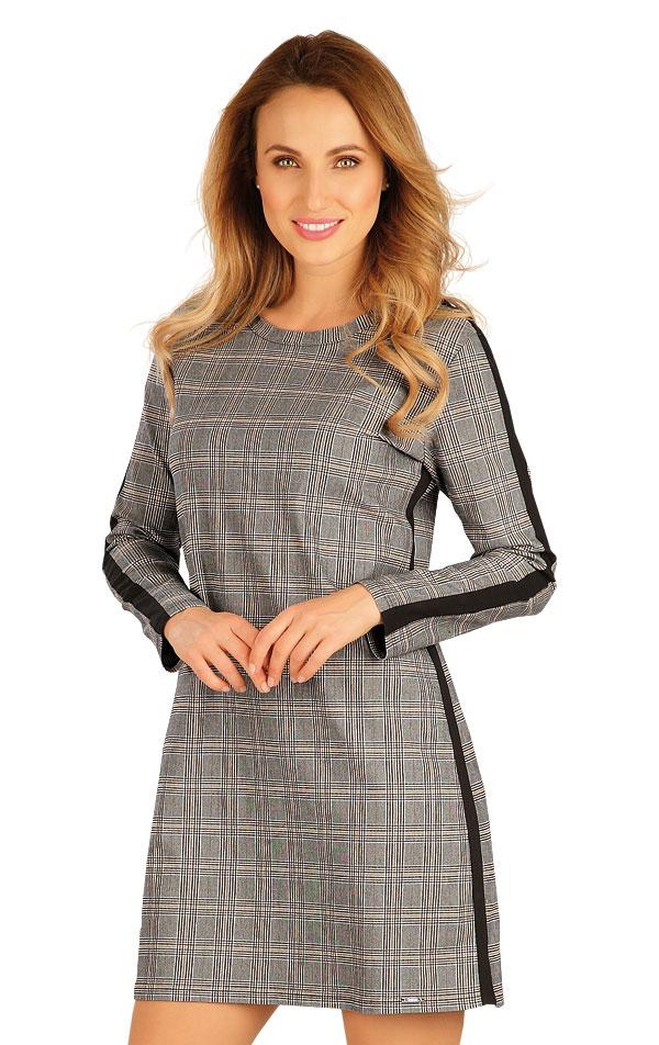 Šaty dámske s dlhým rukávom. 60061 | Športové oblečenie -  zľava LITEX