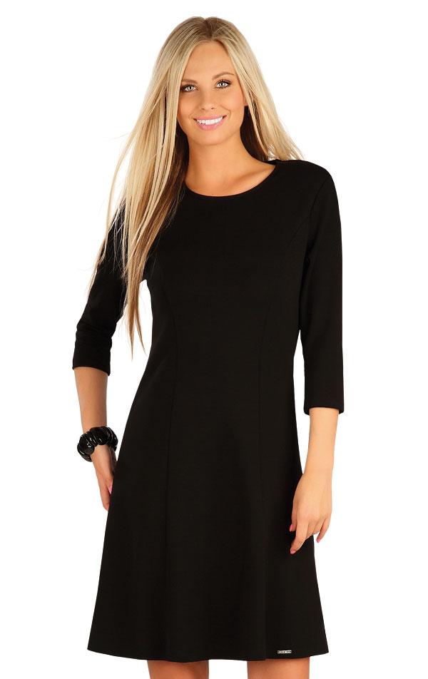 Šaty dámske s 3/4 rukávom. 60074 | Šaty, sukne, tuniky LITEX
