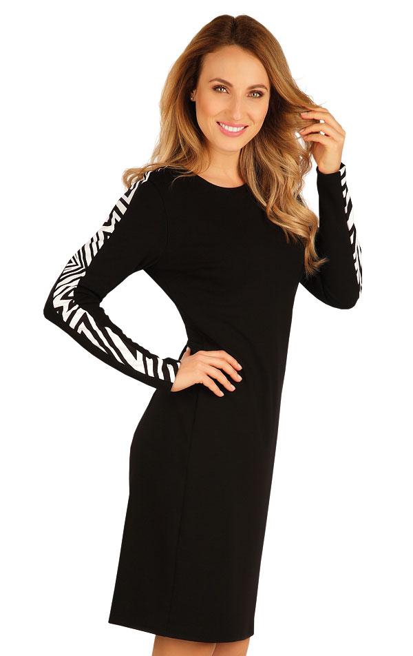 Šaty dámske s dlhým rukávom. 60075   Šaty, sukne, tuniky LITEX