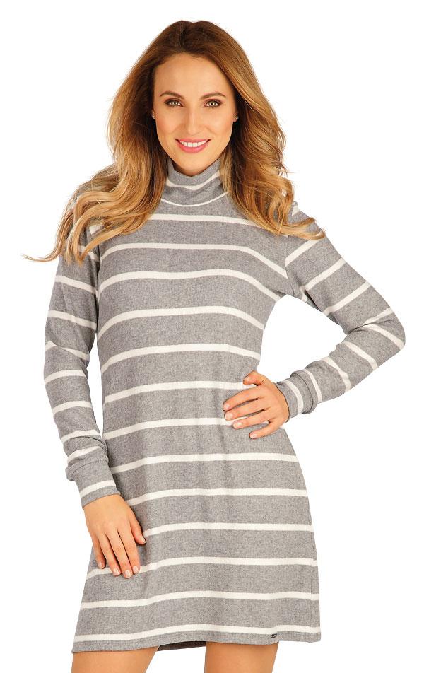 Šaty dámske s dlhým rukávom. 60091 | Športové oblečenie -  zľava LITEX