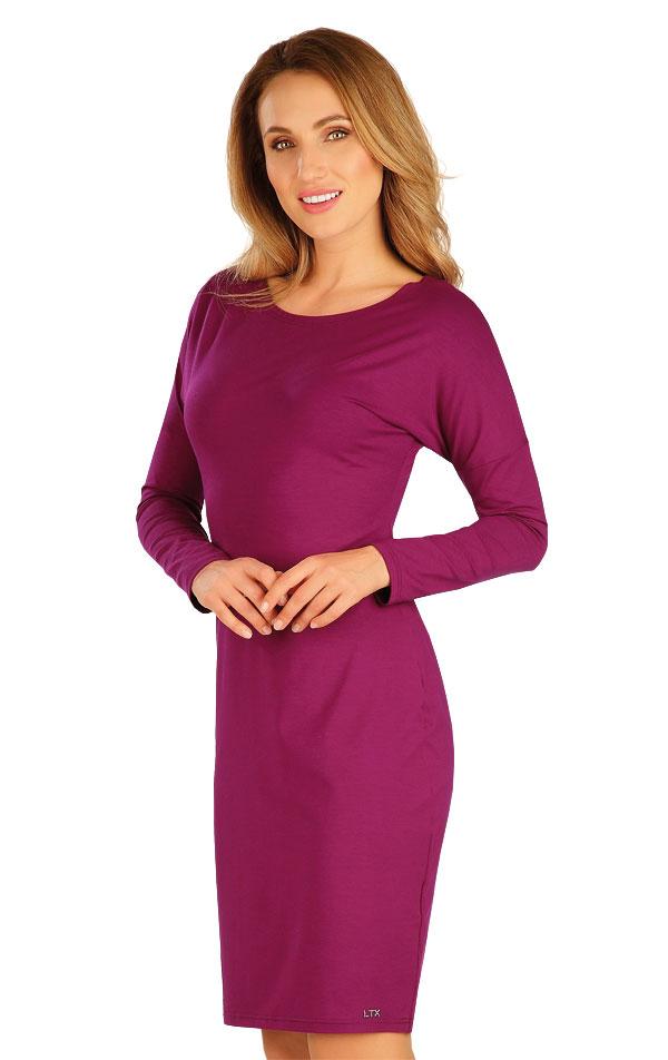 Šaty dámske s dlhým netopierim rukávom. 60127   Športové oblečenie -  zľava LITEX