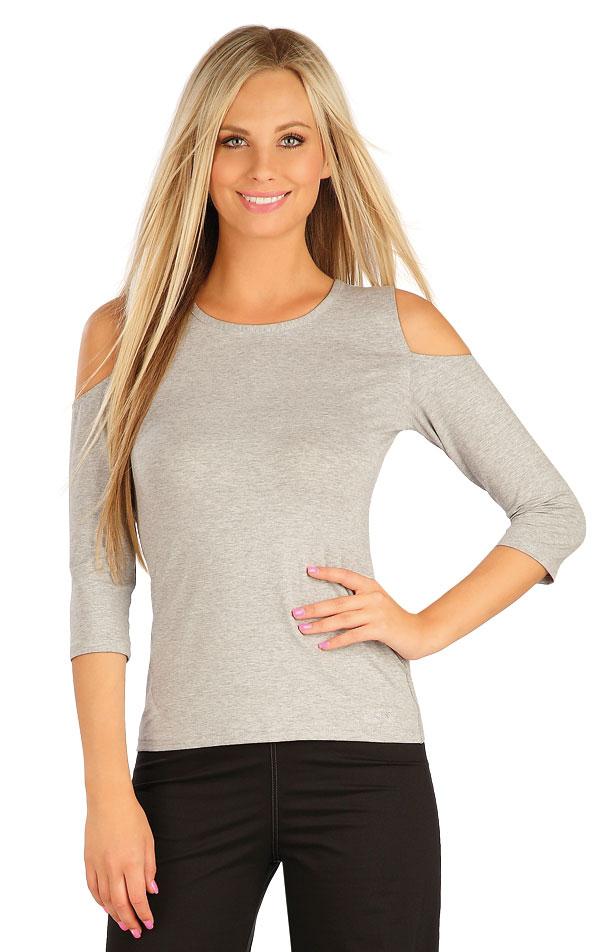 Tričko dámske s 3/4 rukávom. 60135 | Tielka, trička, halenky LITEX