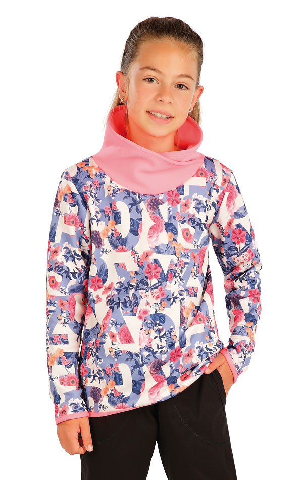 Mikina detská so stojačikom. 60236 | Športové oblečenie -  zľava LITEX
