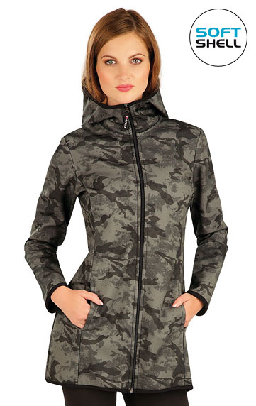 Vesty a bundy > Bunda dámska softshellová s kapucňou. 60280